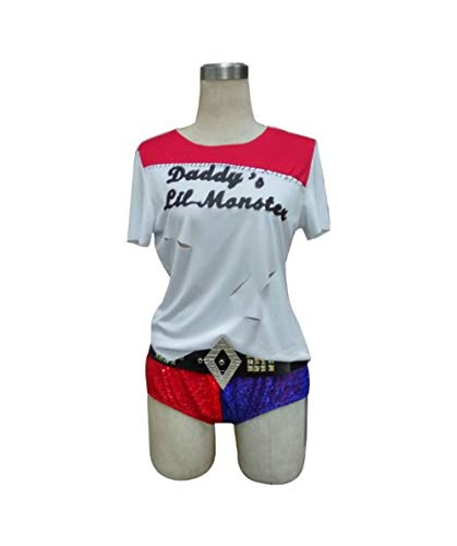 HalloweenPartyOnline Adult Women's Costume for Cosplay Suicide Squad