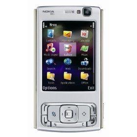 NEW NOKIA N95 1GB Silver/Plum Phone Intl. brasil Version