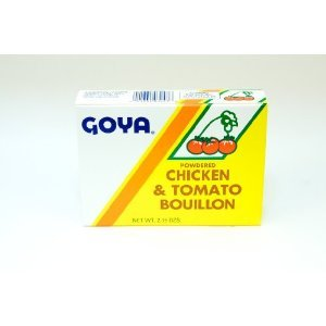 Goya Powdered Chicken & Tomato Bouillon - 2.15 oz.