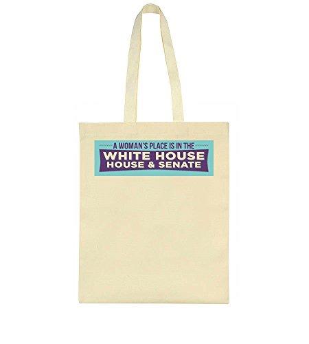 And White Tote Senate Bag House Idcommerce EqTOO