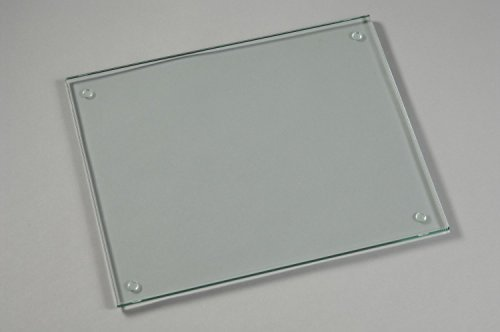 Glass Cutting Board,15 X 11-inch, Tempered Glass by Chefcapt