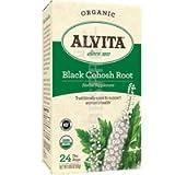 Alvita Black Cohosh Root Tea Bags Organic - 24 Tea Bags