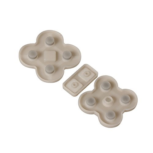 Timorn Replacement Conductive Rubber Button Pad for Nintendo DS Lite NDSL (2 Sets) -