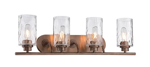 Designers Fountain 87104-OSB Gramercy Park 4 Light Bath Bar -