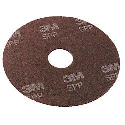 Scotch-Brite SPP19 Surface Preparation Pad, 19'' Diameter, Maroon (Case of 10)
