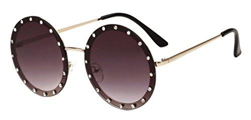 Gafas Tide Polaroid Sunglasses Gafas JYR anti redondas de Unisex HD Fashion ultravioleta Color1 sol YSqAfHZnA