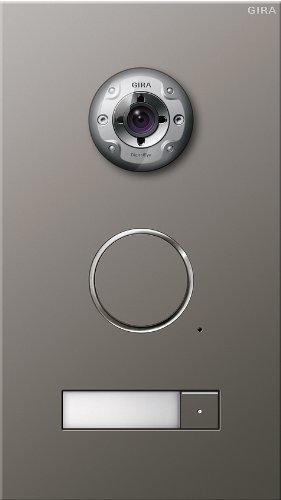 Gira 255120 Door Video Intercom Stainless Steel 1-Way by Gira