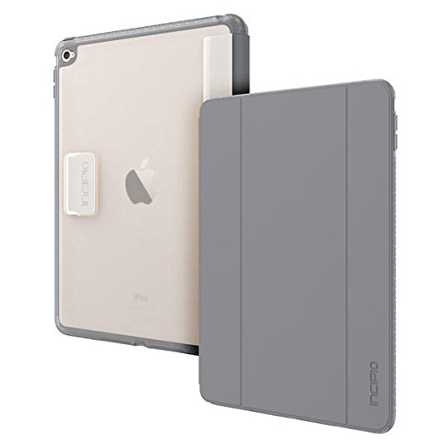 iPad Air 2 Case - Incipio [Co-Molded Case][Shock Absorbing] Octane Folio Case for iPad Air 2-Frost Smoke