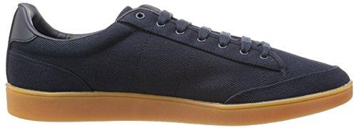 Fred Men's Navy Fashion Twill Sneaker Hopman Navy Perry qZ8qx4F