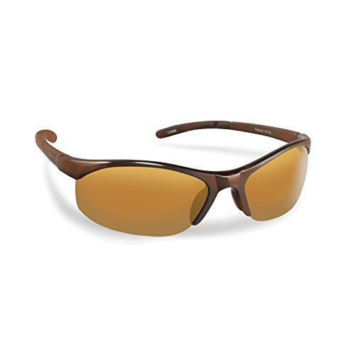 Fly Fish Sunglasses Fatham Tortoise Amber (Fly Fishing Glasses)