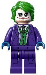 Batman The Dark Knight The Joker - LEGO Superheroes Minifigure Dark Knight Joker (76023)