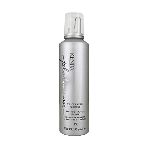 Kenra Platinum Thickening Mousse, 6.7 Fluid Ounce (Kenra Volume Mousse)