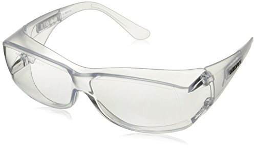 Elvex SG-57C Ovr-Specs III Safety Glasses, One Size, Clear