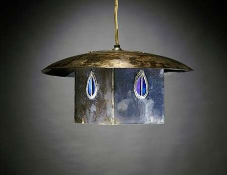 Posterazzi Poster Print Collection a Metal and Leaded Glass Hanging Shade Charles Rennie Mackintosh, (22 x 28), Varies