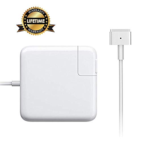 DODAUG Charger for MacBook Air Charger, 45W AC Magsafe 2 Power Adapter Magnetic T-Tip Connector Replacement Charger Compatible for MacBook Air 11-Inch and 13-Inch (45W)