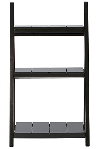 "Nolan 3 shelf Folding Bookcase, 42""Hx24""Wx16""D, BLACK - 42""H x 24""W x 16""D. Assembly required. Our No Hassle Return policy gives you peace of mind to enjoy the purchase in your home for up to 45 days. - living-room-furniture, living-room, bookcases-bookshelves - 31eRSnlymDL -"