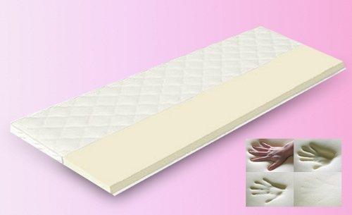 Espuma viscoelástica de colchón con funda de tejido doble ...
