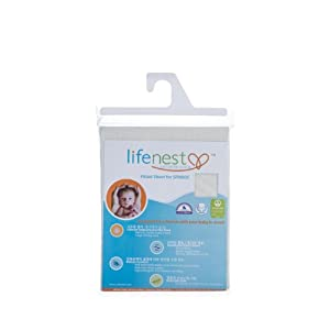Ubimed Breathable Fitted Sheet for Lifenest, Cream