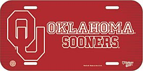 Wincraft NCAA University of Oklahoma License Plate by Wincraft (Image #1)