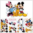 Huge Set of 60 Mickey Mouse and Friends Disney Wall Decals Featuring Mickey Minnie Pluto Donald Goofy Daisy (Friends Decal Set)