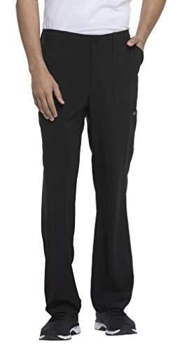 (Dickies EDS Essentials Men's Drawstring Cargo Scrub Pant Large Black)