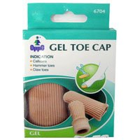 Oppo Gel Toe and Finger Cap, Size : Small, Model No : 6704 - 2 / Pack