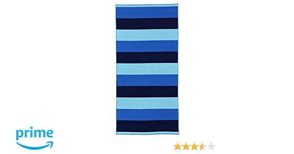 Lands End Beach Towels.Lands End Rugby Field Stripe Beach Towel Aqua Shell Field Stripe