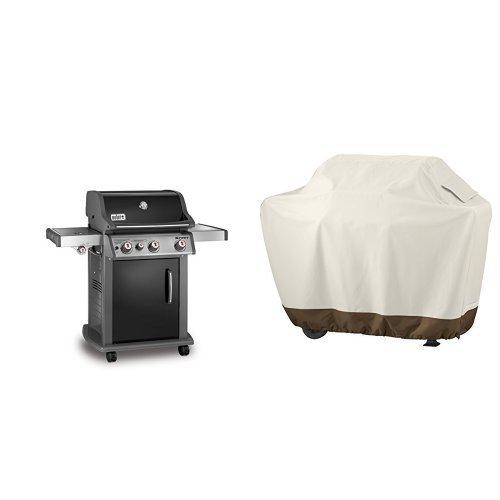 weber-46810001-spirit-e330-liquid-propane-gas-grill-black-amazonbasics-grill-cover-medium