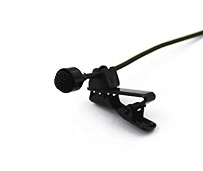 Pro Lavalier Lapel Microphone JK MIC-J 044 Compatible with Sennheiser Wireless Transmitter - Omnidirectional Condenser Mic from J K