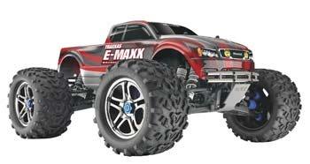 Traxxas E-Maxx Truck RTR w/Castle Mamba 2.4GHz (Traxxas E-maxx Rtr)