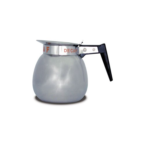 (BUNN S/S 64 Oz 12 Cup Coffee Decanter with Orange Handle)
