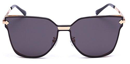 PRIVÉ REVAUX The Madam Handcrafted Designer Cat-Eye Sunglasses For Women