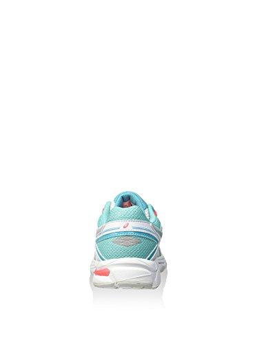 ASICS Gt-1000 4 Gs - Zapatillas de correr unisex Blanco / Turquesa / Coral