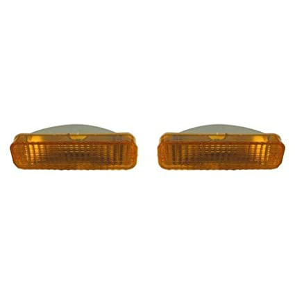 Fits Ford Ranger 83-88//Bronco II 84-88 Parking Signal Pair Driver and Passenger Side Unit Pair Driver and Passenger Side
