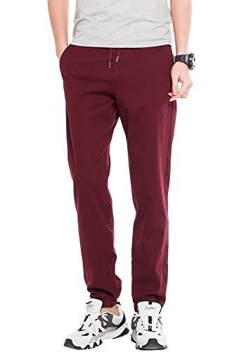 Cómodos Deportivos Hombre Pantalones Ropa Primavera Winered Otoño Ocio Para L Largos Joggers Tamaños Color Holgados De Size Casual Ed00wrq