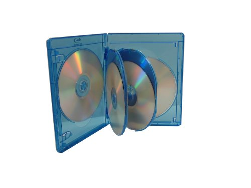 BLU-RAY MULTI CASE (HOLDS 6 DISCS) VIVA ELITE (Pack of 5) BRC-10066