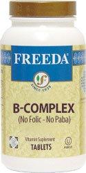 Freeda Kosher B Complex – No Folic No Paba 100 TAB Review