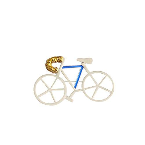 Pin Brooch Bike (Demarkt Cute Bike and Bicycle Brooch Art Deco Pin Novelty Brooches)