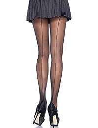 74ea002f8d5dc Women's Sheer Cuban Heel Backseam Pantyhose