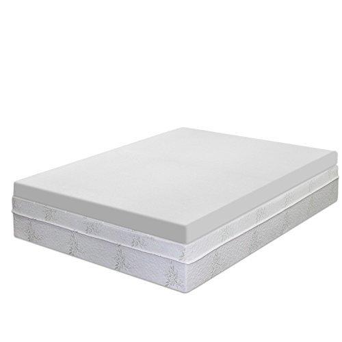 Best Price Mattress 4-inch Premium Memory Foam Mattress Topper - King by Best Price Mattress