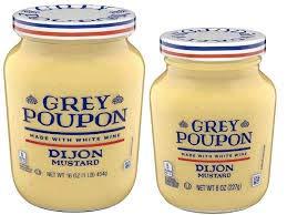 Grey Poupon Dijon Mustard, 16.0 oz Jar (Pack of 3)