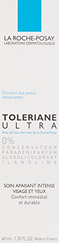 La Roche-Posay Toleriane Ultra Intense Soothing Facial Moisturizer for Sensitive Skin, 1.35 Fl. Oz.
