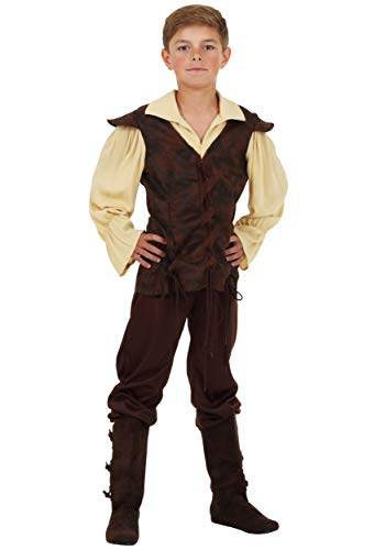 Boys Renaissance Squire Costume Large -