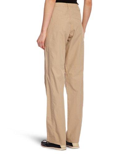 Musto - Pantalón bootcut para mujer Hueso (Light Stone Long)