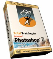 Total Training for Adobe Photoshop 7 – Full Set (Sets 1, 2, & 3)