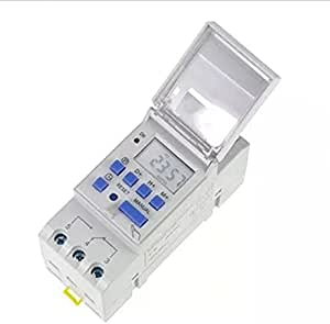 مؤقت تشغيل مبرمج 220 فولت لفصل وتوصيل التيار تلقائياً.