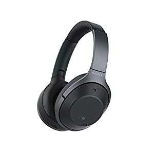 Sony WH-1000XM2/B Wireless Bluetooth Noise Cancelling Hi-Fi Headphones (Renewed)