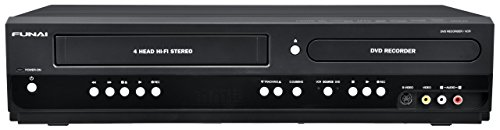 - Funai Combination VCR and DVD Recorder (ZV427FX4) (Certified Refurbished)