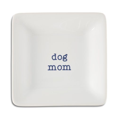 - Pavilion Gift Company 14030 Dog Mom Ceramic Keepsake Dish, 4-1/2-Inch