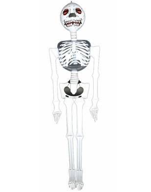 6' Inflatable SKELETON/Halloween PARTY DECORATION/DECOR/Creepy PIRATE Party INFLATE